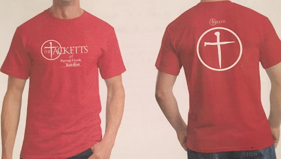 Official Tackett T-Shirt - The Tacketts & Powell Creek Junction